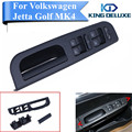 Black Master Window Switch + Panel Bezel + Handle Trim For VW Jetta Golf MK4 Passat B5 1998 1999 2000 2001 2002 2003 2004 #P174