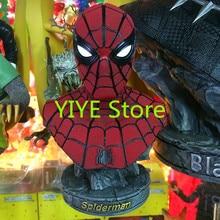 Человек-паук бюст Человек-паук Бюст Смола 18 см AG245 руки делают модель