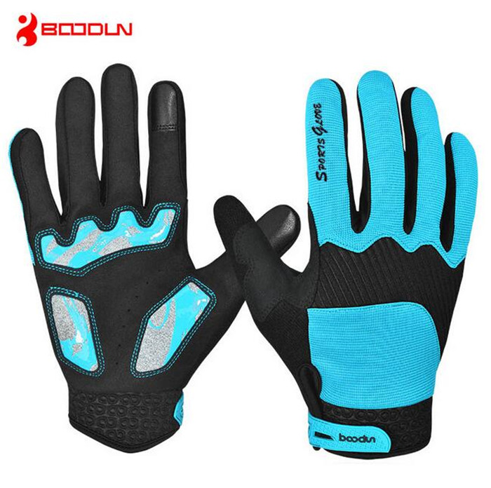 BOODUN Winter Full Finger Cycling font b Gloves b font Waterproof Windproof font b Gloves b