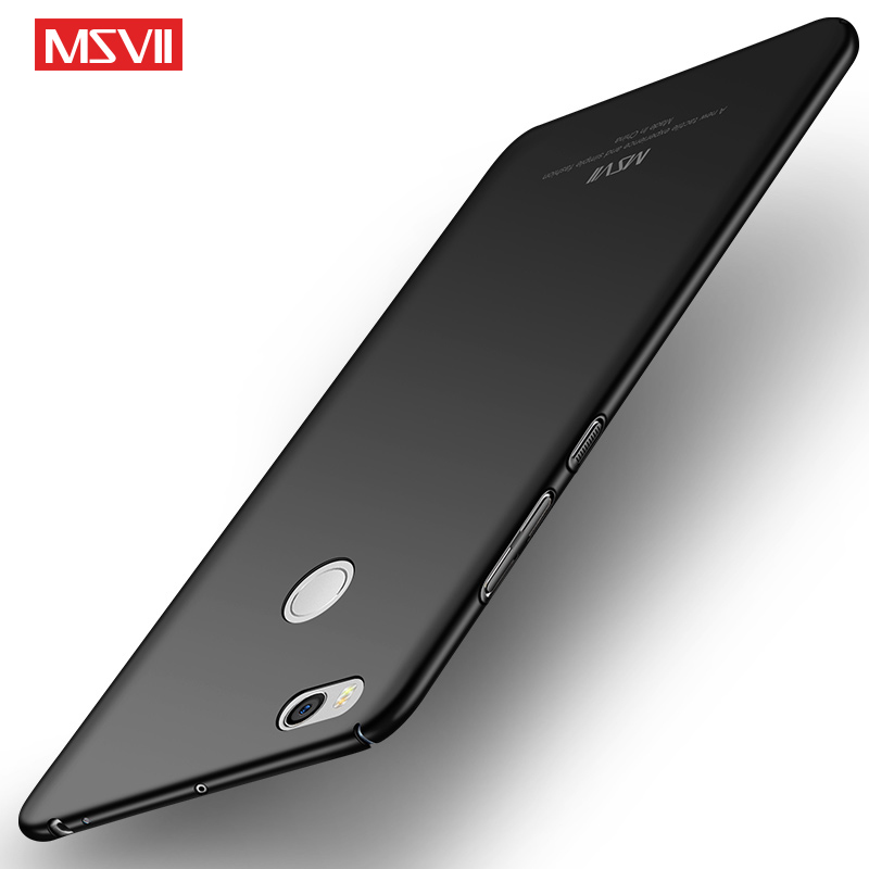 Original MSVII Case For Xiaomi Mi Max 2 Hard Frosted PC Back Cover 360 Full Protection Housing For Xiaomi Mi Max2