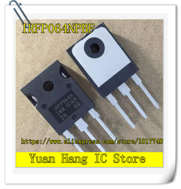 5PCS/LOT IRFP064NPBF IRFP064N IRFP064 N channel 55V 110A TO-247 MOS field effect transistors 5 pieces lot ikw50n60h3 k50h603 to 247 igbt600v 50a