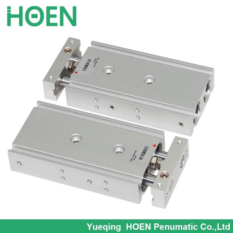 NEW Pneumatic CXSM32-150 Dual Rod Cylinder Double Acting SMC Type