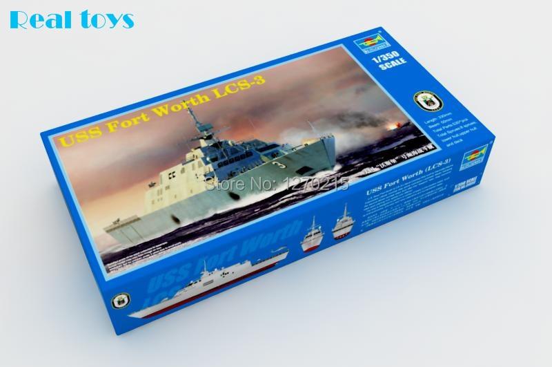 Trumpeter 04553 1 350 USS FORT WORTH LCS 3 Plastic Model Kit