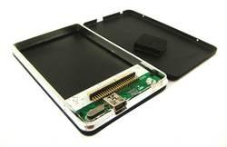USB 2.0 إلى 1.8 CF 50 دبوس قرص صلب HDD الألومنيوم الضميمة الخارجية صندوق قرص صلب المحمول mk8007gah mk6006gah mk4004gah