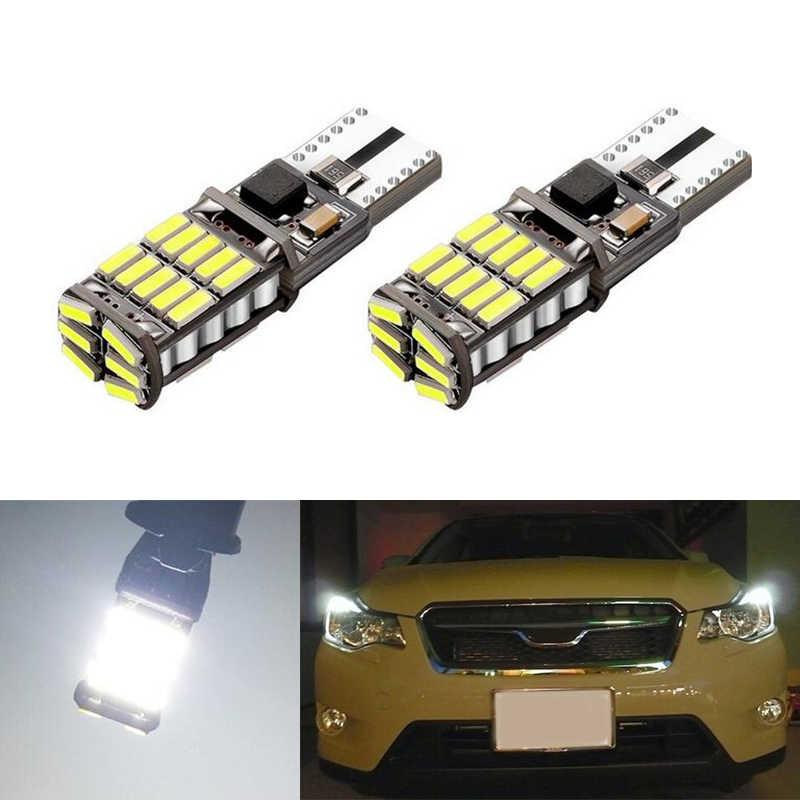 2x T10 LED W5W سامسونج سيارة LED السيارات مصباح ضوء لمبات ل سوبارو امبريزا ليجاسي xv فورستر Outback تريبيكا فيات