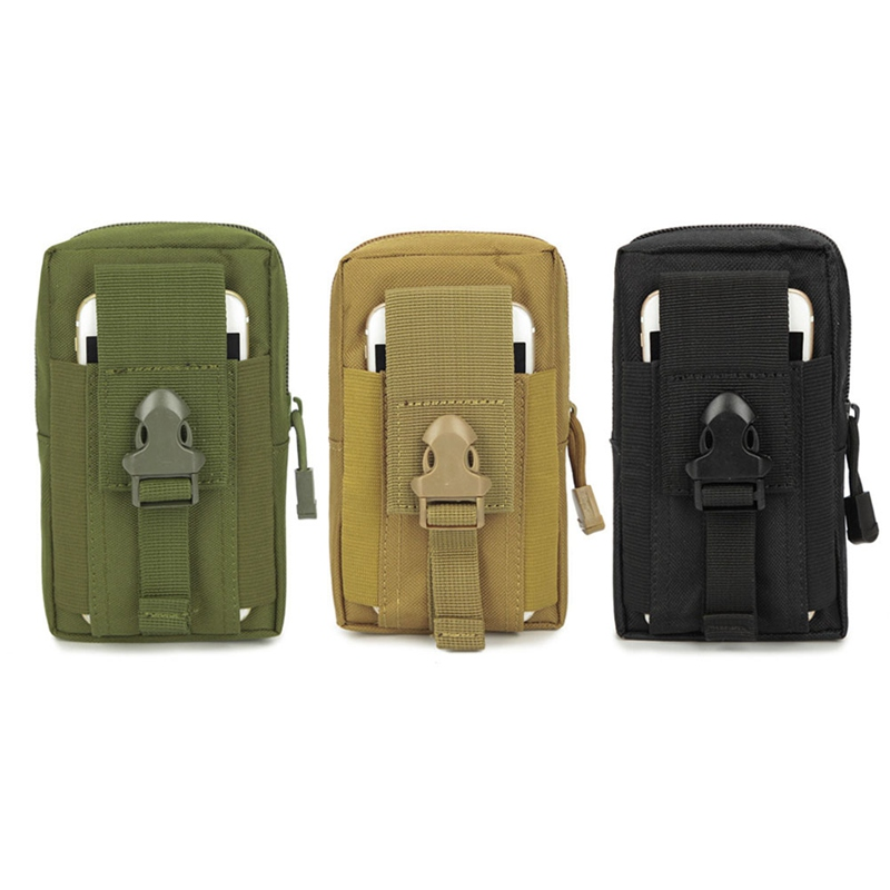 562a39792aa52b Tactical Pouch Molle Hunting Bags Belt Waist Bag Military Fanny Pack  Outdoor Pouches Phone Case Pocket