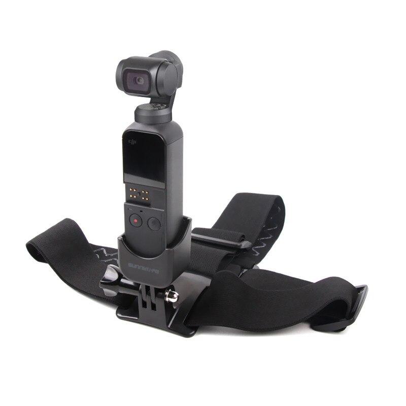 Gimbal Camera Head Band Wearing Belt Strap for DJI OSMO POCKET & GOPRO