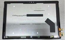 LCD كاملة ل مايكروسوفت السطح برو 4 (1724) شاشة الكريستال السائل مجموعة المحولات الرقمية لشاشة تعمل بلمس استبدال لوحة