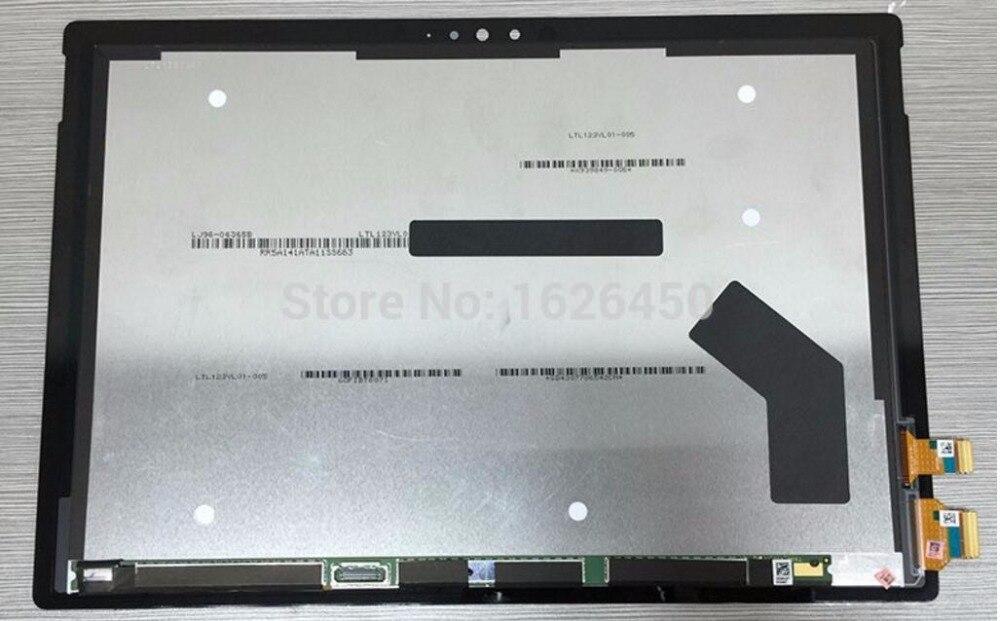 LCD Complet Pour Microsoft Surface Pro 4 (1724) LCD Affichage à l'écran tactile digitizer Assemblée remplacement panneau