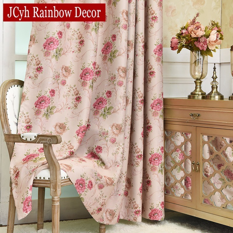 Luxury Blackout Curtains For Living room Bedroom Window French ...