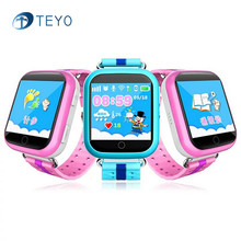 Teyo GPS Smart Watch Q750 Q100 Baby Watch with Wifi Teach Function SOS Call Location Device Tracker for Kid Safe PK Q90 A6 Q80