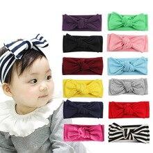 3psビッグちょう結び弾性ヘッドバンド赤ちゃんヘッドバンドベビーアクセサリー髪装飾乳児幼児のヘッドバンド