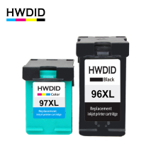 цена на HWDID 96XL 97XL Refilled Ink Cartridge Replacement for HP 96 97 for DeskJet 5740 6540 6840 9800 9860 Photosmart 2610 2710 8150