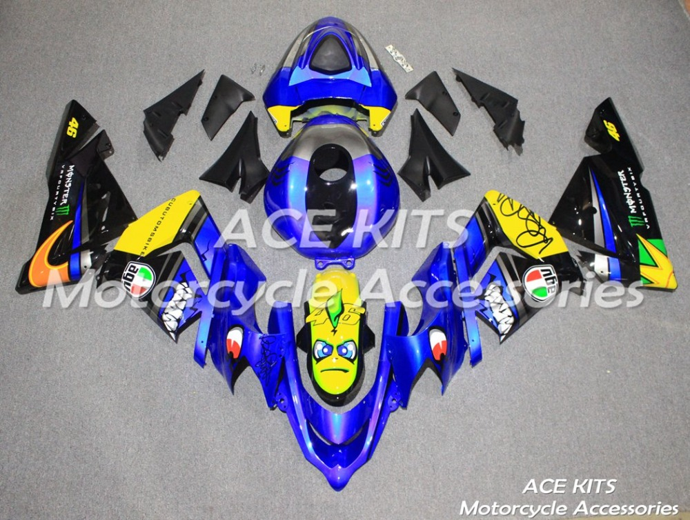 New ABS motorcycle Fairing For kawasaki Ninja ZX10R 2004 2005  Injection Bodywor All sorts of color  No.59New ABS motorcycle Fairing For kawasaki Ninja ZX10R 2004 2005  Injection Bodywor All sorts of color  No.59