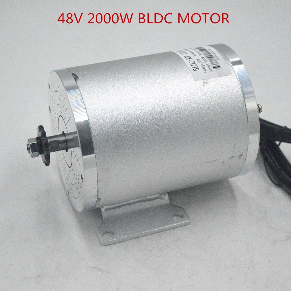 48V 2000W BLDC Motor MY1020 for Electric bike Scooter E Bike Electric Bicycle Motorcycle Accessories Part