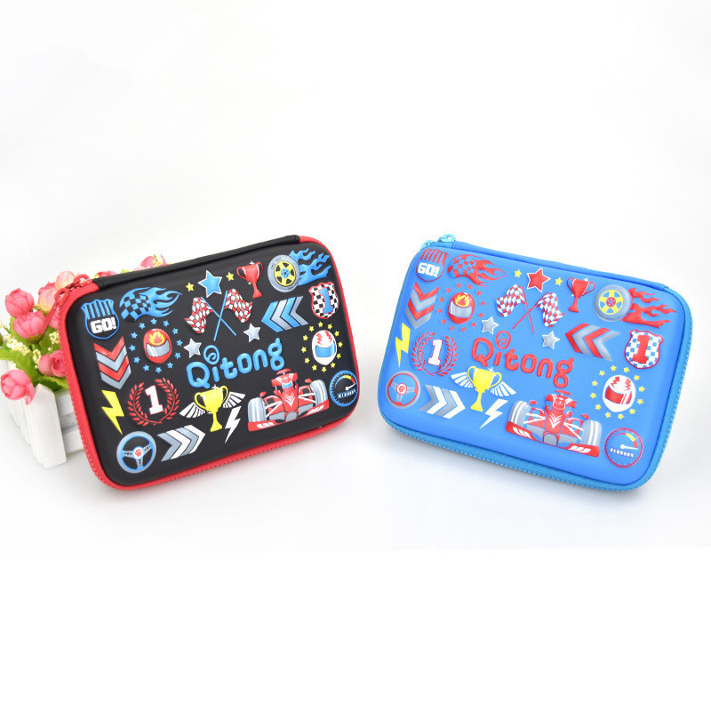 Cartoon pencil case Kawaii estuches school Creative kalem kutu pencilcase estuche escolar pencil bag pen box papelaria okul pencil case kawaii emoticon printing cute cat pencil box big capacity pen case school supplies kalem kutu astuccio scuola