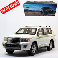 YJ 1/18 Scale JAPAN TOYOTA LAND CRUISER 200 SUV Diecast Metal Car Model Toy For Collection/Gift/Decoration