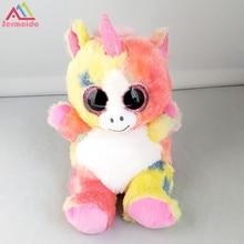 sermoido 6'' Peek-A-Boo Unicorn Phone Holder with Screen Cleaner Bottom Plush Stuffed Animal Collectible Soft Big Eyes Doll Toy peek a boo what