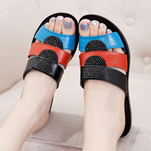 Fashion mother sandals and slippers 2016 summer new slope with comfortable slippers elderly woman home sandals and slippers