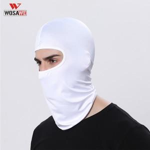 Image 4 - Balaclava Face Mask Motorcycle Tactical Face Shield Mascara Ski Mask Cagoule Visage Full Face Mask Gangster Mask