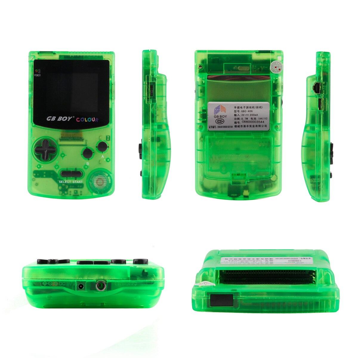 """Image 4 - GB Boy цветной портативный игровой плеер 2,7 """"портативные классические игровые консоли с подсветкой 66 встроенных игр-in Портативные игровые консоли from Бытовая электроника"""