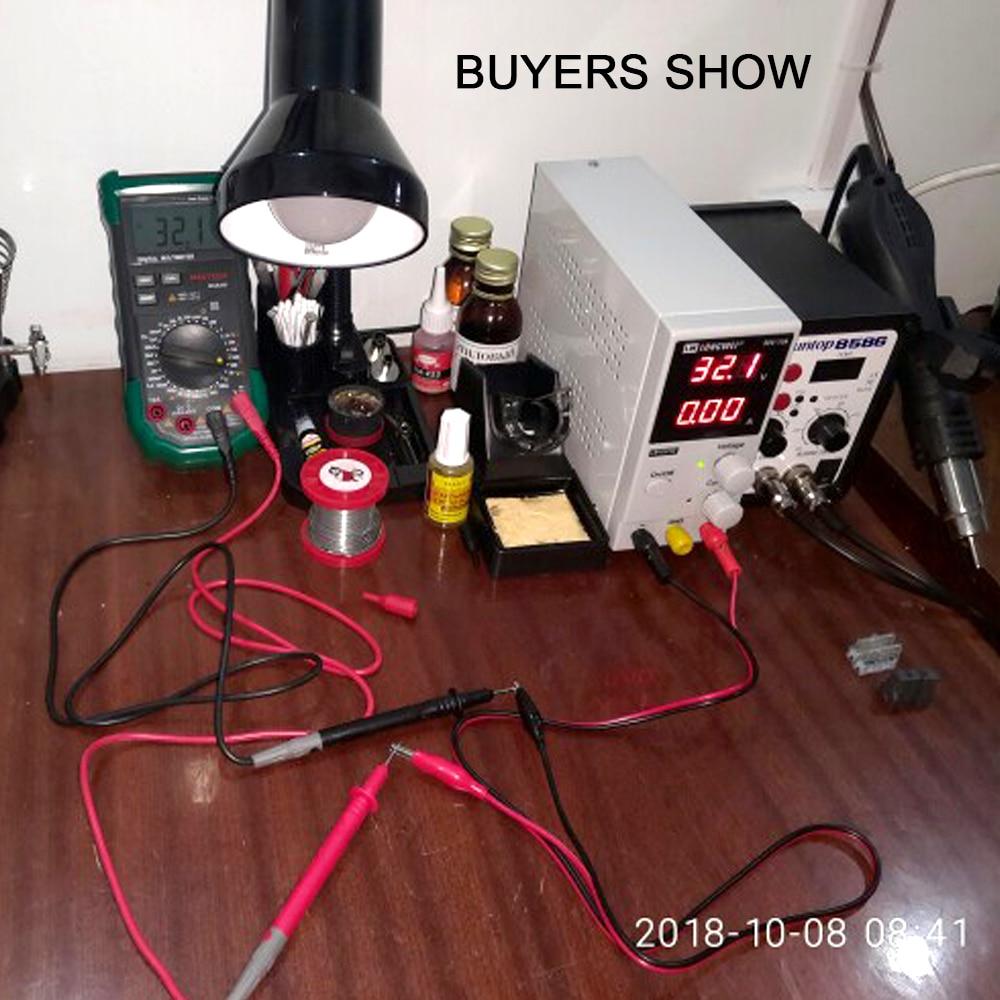 LW3010D DC alimentation 30 V 10A Mini réglable numérique DC alimentation à découpage 3 chiffres outil de réparation de laboratoire - 6