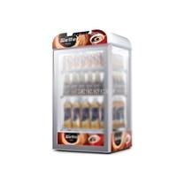 80L 3 слоя витрина для горячих напитков коммерческий горячий напиток теплее витрина еда сохраняет тепло шкаф с функцией синхронизации