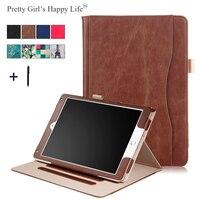 Ładne Dziewczyny Szczęśliwe Życie 10.5 cal Uniwersalny Pokrowiec Na Tablet iPad Pro 10. 5 Ramki Klapki Skórzane Torebka Karty Stoisko pokrywa + Stylus