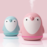 220ml Aroma Humidifier Cute Penguin USB Air Diffuser For Home Office Car Mist Maker Essential Oil Diffuser|Humidifiers| |  -