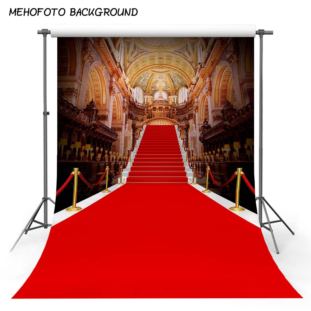 MEHOFOTO Photography Backdrops The Red Carpet Theme Party Backdrop Custom Wedding Photo Background Studio CM-4851 мочалка happy baby wash