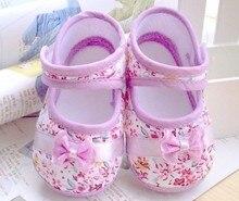 Ходоки первые лук малыша цветы обуви весна ребенок девушки осень обувь