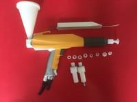 GM03 gema test powder coating spray gun+gema cascade+nozzle