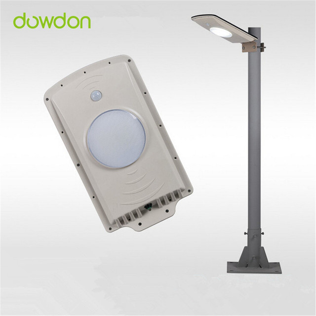 800lm All In One Integrated 6w Solar Led Street Garden Outdoor Light Motion Sensor