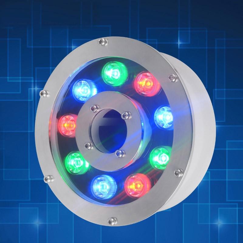 9W RGB led fountain light (3)
