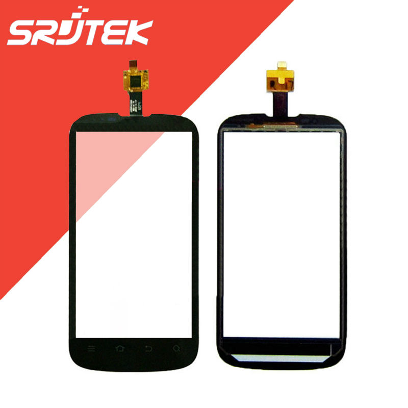 4.3 inch FOR ZTE Grand X V970 V970M Touch Screen Digitizer Sensor Outer Glass Black FPC-S72077-1 V00