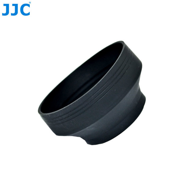 JJC Universal 3 in 1 Collapsible Silicone Lens Hood 46mm 49mm 52mm 55mm 58mm 62mm 67mm 72mm 77mm  Camera Lens Protector