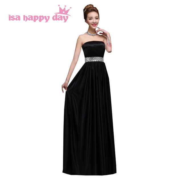 27b370bdf Vestidos de festa vestido longo mulheres vestido de noite preto longo para  festa 2019 chegada nova