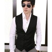 Wholesale & retail vintage men suit vest nuovo arrivo slim fit fashion designer di marca formal dress business panciotto