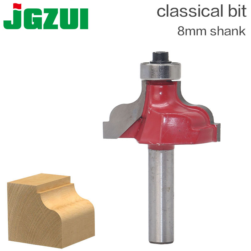 """Classical Bit Classical Roman Ogee Edge Forming Router Bit - 8"""" Shank"""