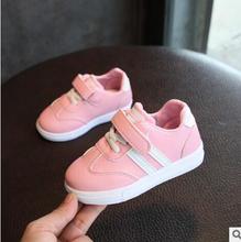 2018 Primavera Outono Crianças Sapatos Meninos Meninas Sapatos de Desporto Antiderrapante Fundo Macio Do Bebê Dos Miúdos Tênis Casuais Botas Flat Tamanho 21-30