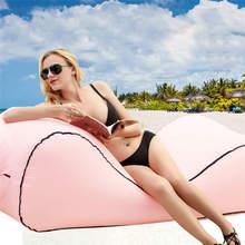 Наружная портативная надувная кровать диван воздушный диван ленивая Подушка водонепроницаемый ленивый портативный открытый пляж кровать обустройство дома@ 30