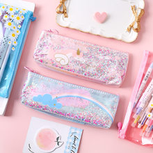 1 Pcs Kawaii Pencil Case Unicorn Wing Gift Estuches School Pencil Box Pencilcase Pencil Bag School Supplies Stationery(China)