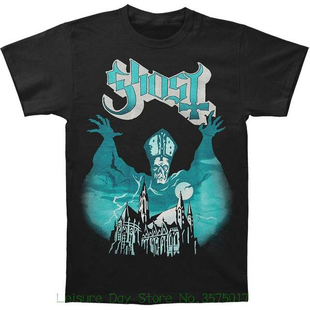 clearance sale look for usa cheap sale Top Tee For Sale Natural Cotton Tee Shirts Ghost Bc Men's Opus Eponymous  Album Cover T-shirt S