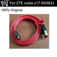 Yüksek Kaliteli ZTE nubia z17 Z 17 NX563J USB 3.0 Tip C Hızlı Şarj şarj aleti kablosu USB-C Kablosu ZTE nubia z17 Z 17 NX563j