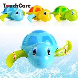 Newborn cute cartoon animal tortoise baby bath toy infant swim turtle chain clockwork classic toys kid.jpg 250x250