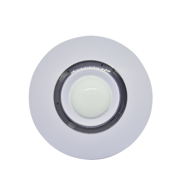 (1 PCS)Indoor 360 degree ceiling Motion sensor infrared and microwave Double sensor Wired burglar alarm NC  signal output