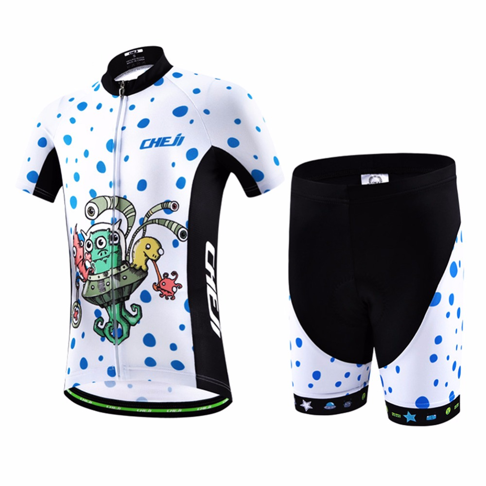 Cartoon Kids Cycling Clothing for Boy Girls Children Jersey Set Breathable Pro MTB Bicycle Bike Clothes Ropa Ciclismo Maillot veobike 2018 pro team summer big cycling set mtb bike clothing racing bicycle clothes maillot ropa ciclismo cycling jersey sets