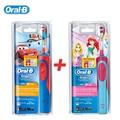 Braun Oral B Безопасность Детей Электрическая Зубная Щетка D12513K Аккумуляторная Водонепроницаемый Зубы Щеткой (Мальчики/Девочки) для Детей