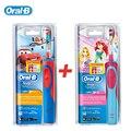 Braun oral b d12513k seguridad niños cepillo de dientes eléctrico recargable cepillo de dientes a prueba de agua (niños/niñas) para los niños