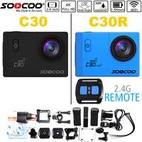 Action Camera NTK96660 SOOCOO C30 C30R Wifi 4K 24FPS 170D Lens 2 LCD 30M Waterproof Extreme